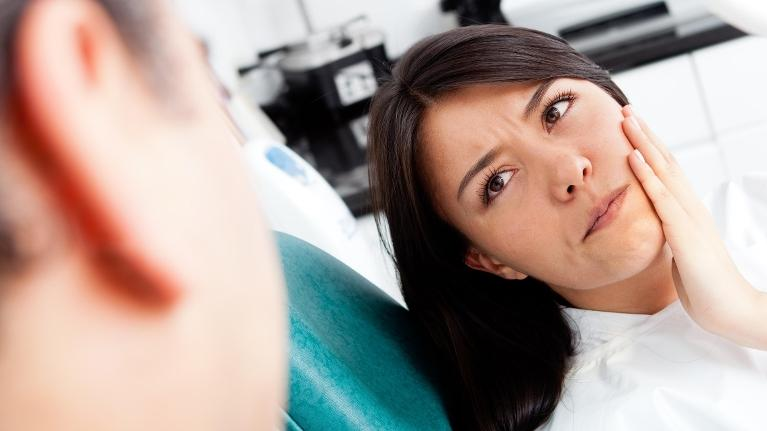 Woman at Dentist | Extrations in Booragoon